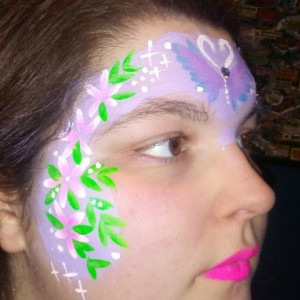 Summertime facepainting - Face Painter in Minneapolis, Minnesota