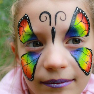 Sunlit Faces Face Painting - Face Painter in Duncan, British Columbia
