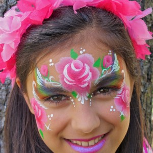 Sunrise Face Painting - Face Painter in Fairfax, Virginia