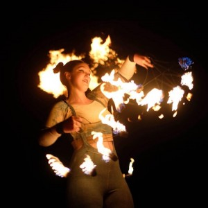 Sunrise Stormhooper - Fire Dancer in Portland, Maine