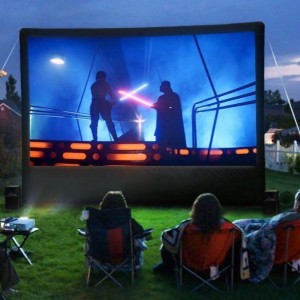 Super Outdoor Moviez - Outdoor Movie Screens / Halloween Party Entertainment in Visalia, California