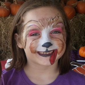 Sweet Pea Face Painting - Face Painter in Forney, Texas