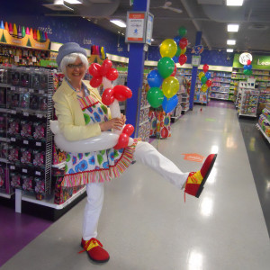 Sylvia The Balloon Lady - Balloon Twister in Vancouver, British Columbia