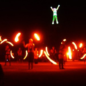 Tahoe Burn Tribe - Fire Performer in Tahoe City, California