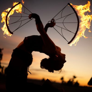 Tahoe Fire Dancers - Body Painter / Halloween Party Entertainment in South Lake Tahoe, California