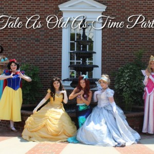 Tale As Old As Time Parties - Princess Party / Children's Party Entertainment in High Point, North Carolina