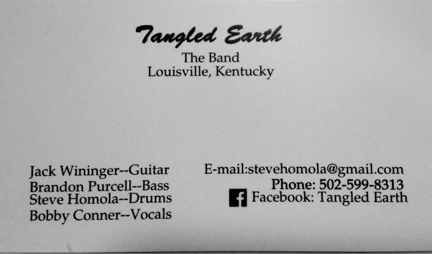 Hire Tangled Earth - Rock Band in Louisville, Kentucky