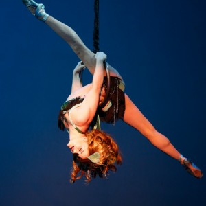 Tanya Brno - Aerialist / Trapeze Artist in Seattle, Washington
