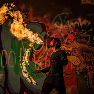 Tazzmanianentertainment - Fire Dancer in Austin, Texas