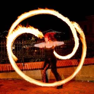 Temple of Poi fire Dancers - Fire Dancer in San Francisco, California