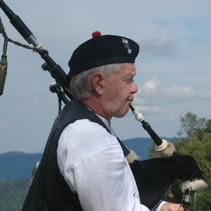 Terry Ranney - Bagpiper in Richmond, Vermont