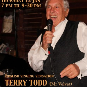 Terry Todd - Crooner in Sarasota, Florida