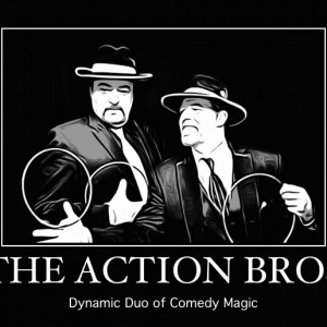 "The Action Bros. ""The Dynamic Duo of Comedy Magic"" - Magician in Louisville, Kentucky"