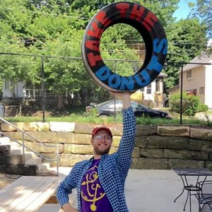 The Amazing Moopman - Juggler in Cuyahoga Falls, Ohio