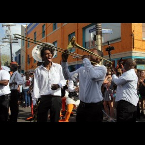 The Andrews jr. Band - Brass Band / Brass Musician in New Orleans, Louisiana