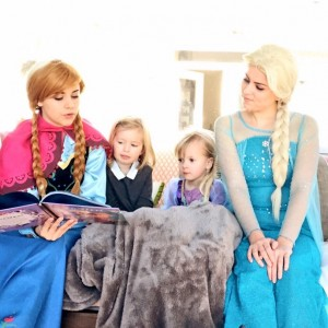 The Arctic Queens - Princess Party / Storyteller in Winston-Salem, North Carolina