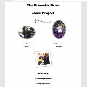 The Brewster Bros. Jazz Project - Jazz Band / Easy Listening Band in Lake Elsinore, California