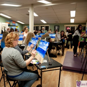 The Canvas Roadshow - Arts & Crafts Party in Bedford, New Hampshire