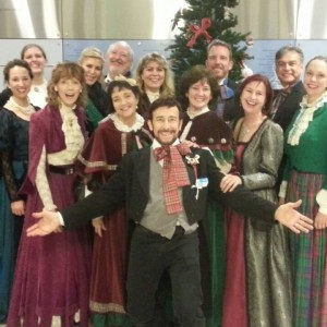 Christmas Caroling.Hire The Caroling Company Christmas Carolers In Los