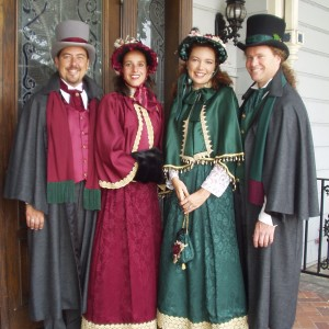 The Charles Dickens Carolers - Christmas Carolers / A Cappella Group in Los Angeles, California