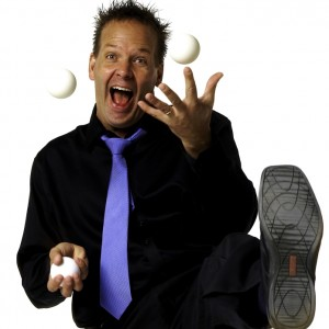 The Comedy & Juggling of Paul Isaak - Corporate Comedian / Emcee in Calgary, Alberta
