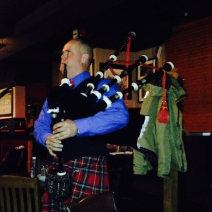The Dutch piper - Bagpiper in Hamilton, Ontario