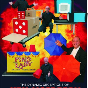 The Dynamic Deceptions of Ken McCreedy - Comedy Magician / Illusionist in Niagara Falls, Ontario
