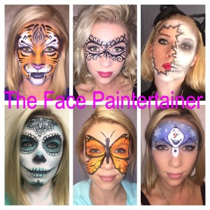 The Face Paintertainer - Face Painter / Halloween Party Entertainment in Grosse Pointe, Michigan