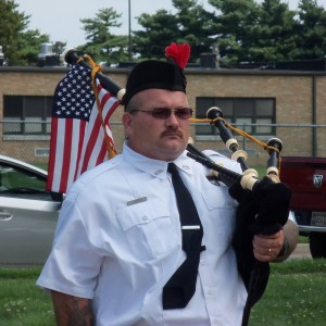 The Firefighting BagPiper - Bagpiper in Hartly, Delaware