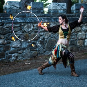 The Firefly Caravan - Fire Performer in Worcester, Massachusetts