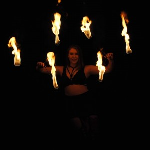 The Flow Arts Fairy - Fire Performer in Morton Grove, Illinois