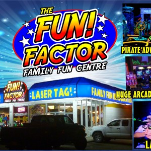 The Fun Factor Fun Centre - Laser Tag & Mini-Golf - Venue in Kamloops, British Columbia