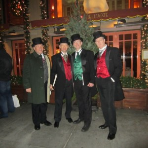 The Gentlemen Carolers - Christmas Carolers / Doo Wop Group in New York City, New York