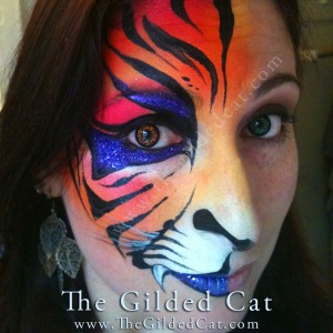 Awesome face painters in salem or gigsalad for Gilded heart tattoo
