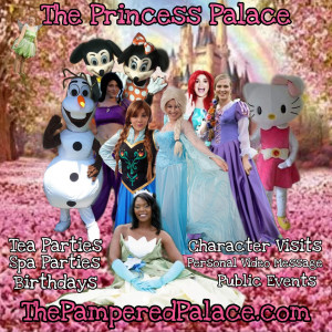 The Girly Girlz Pampered Palace - Princess Party in Clarksville, Tennessee