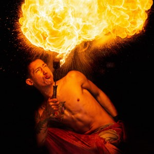 Mikhol Mars - Fire Performer in Portland, Maine