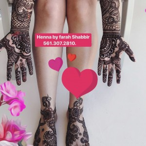 The Henna Artist Farah - Henna Tattoo Artist / College Entertainment in Lake Worth, Florida
