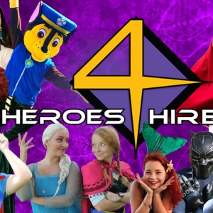 The Heroes 4 Hire - Princess Party / Superhero Party in Myrtle Beach, South Carolina