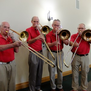 """The Hip Bones"" Trombone Quartet - Jazz Band / Holiday Party Entertainment in Fort Collins, Colorado"