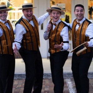 The Humdingers Quartet - Barbershop Quartet / 1920s Era Entertainment in Orlando, Florida