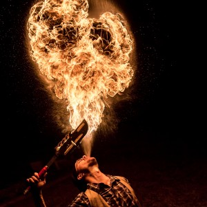 The Indelible Jack Regal - Fire Performer in Asheville, North Carolina