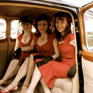 The Lindy Sisters - Andrews Sisters Tribute Show / Swing Band in Glendora, California