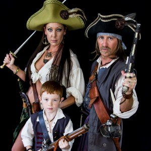 The MacKay Pirate Family - Mermaid Entertainment in Newark, Ohio