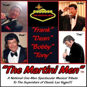 The Martini Men - Las Vegas Style Entertainment / 1960s Era Entertainment in Las Vegas, Nevada