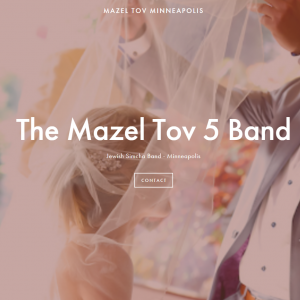 The Mazel Tov 5 Band - Jewish Entertainment / Dance Band in Minneapolis, Minnesota