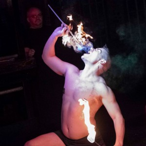 The Molotov Cockatiel - Fire Eater in Reston, Virginia