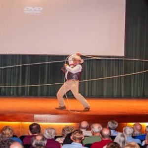 The Oklahoma Kid Trick Roping Comedian
