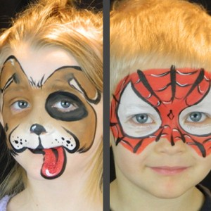 The Painted Dragon - Face Painter in Camanche, Iowa
