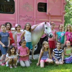 The Pony In Pink - Pony Party / Outdoor Party Entertainment in Trumbull, Connecticut