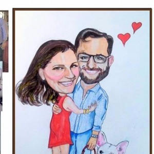 The Possibilities Artist Caricatures - Caricaturist in Midlothian, Virginia